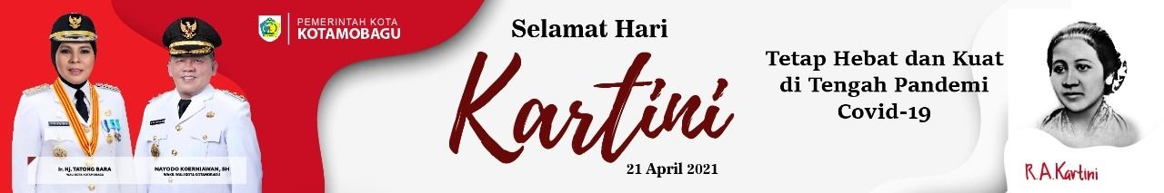 banner Hari Kartini Kotamobagu 2021
